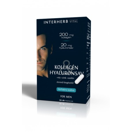 Kollagén&Hyaluronsav for Men kapszula 30db