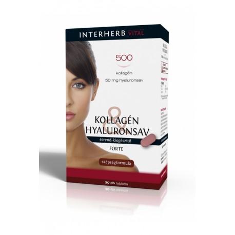 Kollagén&Hyaluronsav FORTE szépségformula 30db