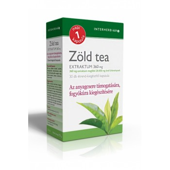 Zöld tea Extraktum 30db