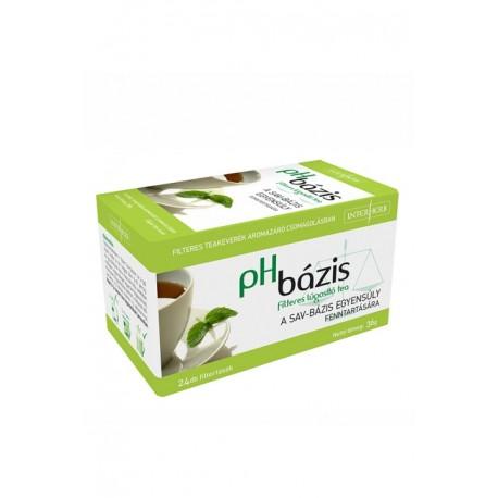 pH BÁZIS lúgosító filteres tea 24filter