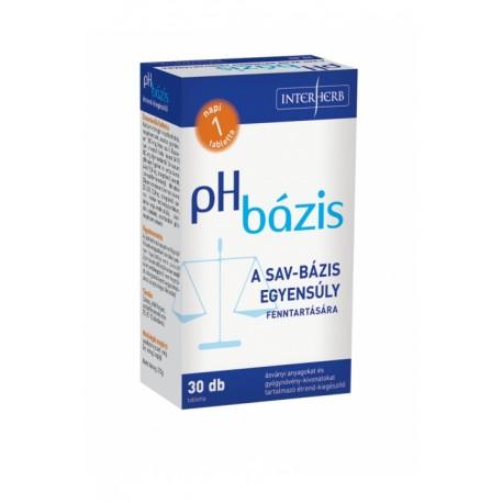 pH BÁZIS lúgosító tabletta 30db